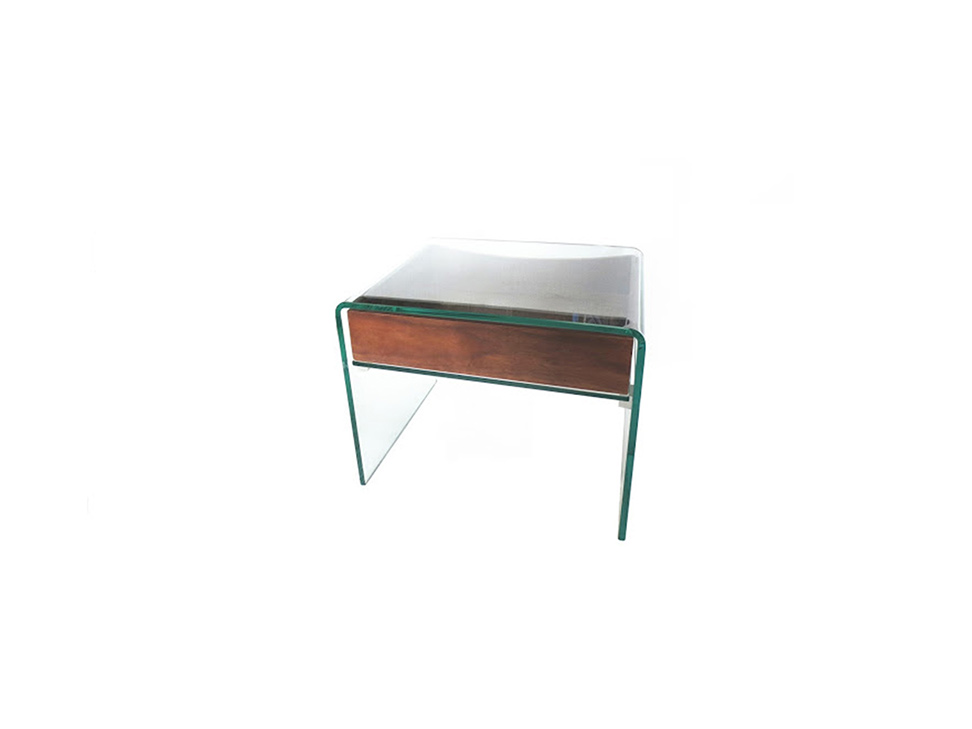 Mesa lateral trendy ghost cristal liverpool es parte de mi for Mesa cristal liverpool