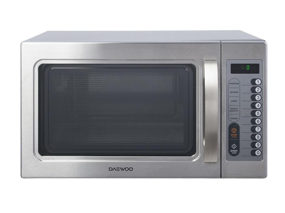 Daewoo horno de microondas industrial acero puerta cristal - Hornos de sobremesa media markt ...